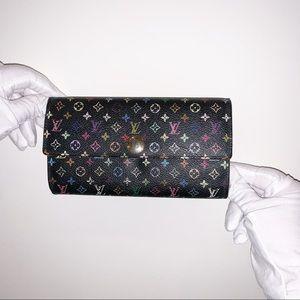 Louis Vuitton x Takashi Murakami Sara Wallet